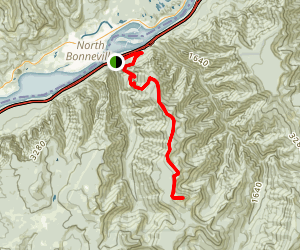 Tanner Butte Trail Map