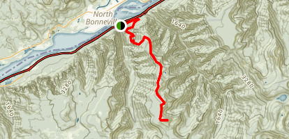 Tanner Butte Trail (CLOSED) Map