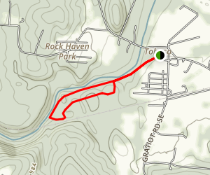 Blackhand to Quarry Rim Trail Loop Map