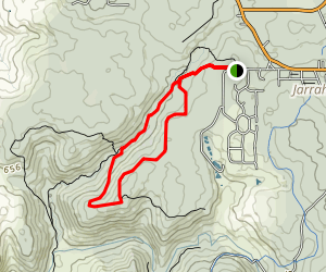 Kitty's Gorge Walk Map