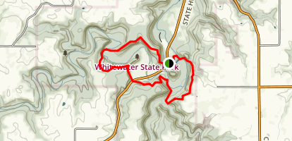 Whitewater State Park Dakota Trails Loop Map