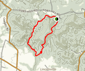 Gorge Trail Map