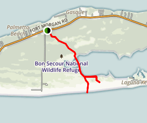 Pine Beach Trail Map