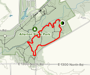 Allerton Park Trail Map