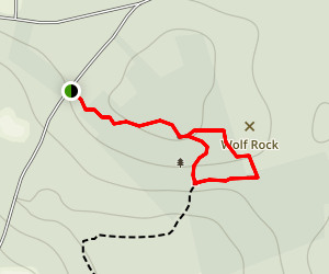 Wolf Rock Map