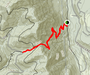 Notch Pass Trail Map