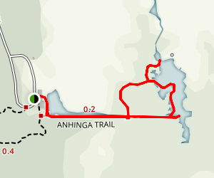Anhinga Trail Map