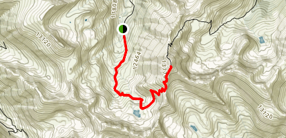 Handies Peak Map