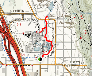 Lagoon Trail Map