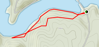Stone House Loop Trail Map
