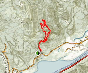 Hamilton Mountain Loop Trail Map
