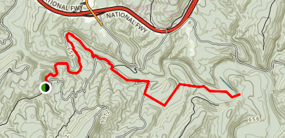 Long Pond Trail Map