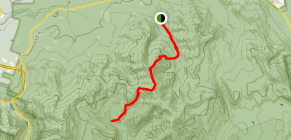 Twinway and Twin Brook Trail Map