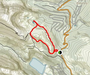 North Star Mountain Trails Map