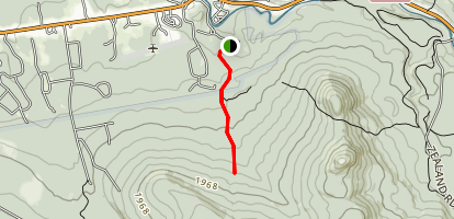 Turtle Brook Trail Map