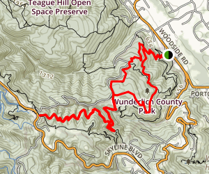 Bear Gulch and Alambique Trail Loop Map
