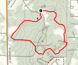 Kettle View and Meadow Trails Loop Map