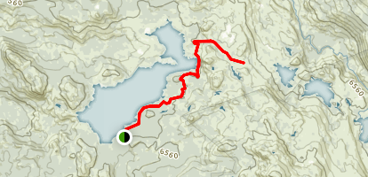 Loon Lake Trail Map
