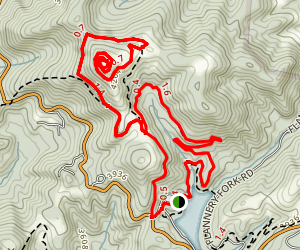 Rich Mountain Carriage Trail Map