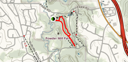 Trillium Trail Loop Map