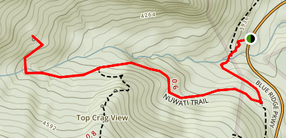 Nuwati Trail Map