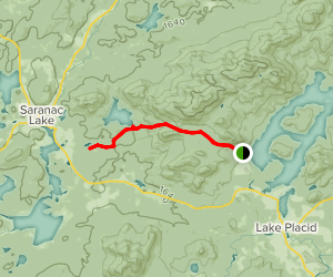 Jackrabbit Trail to McKenzie Pond Map
