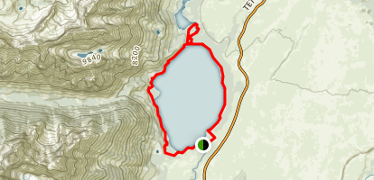 Jenny Lake Trail Map
