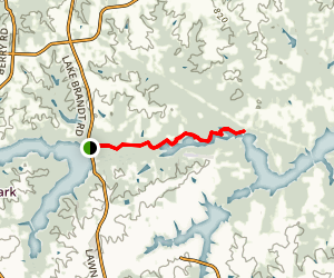 Reedy Fork Trail Map
