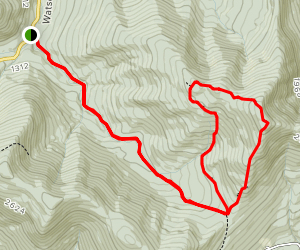 Ashokan High Point Trail Map