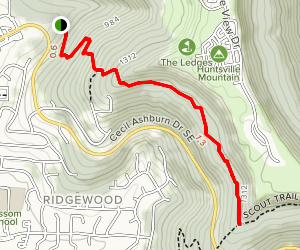 Fanning Trail Map