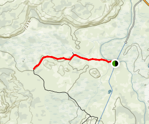 Sentinel Meadows Trail Map