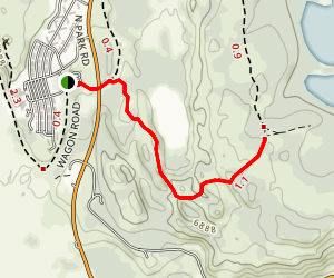 Christian Pond Trail Map