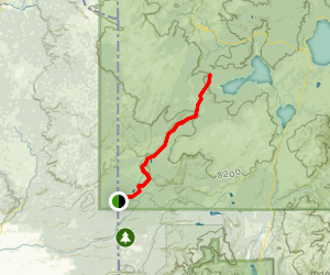Bechler River Trail Map