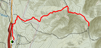 Mount Liberty Trail Map