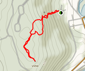 Sweetheart Mountain Trail Map