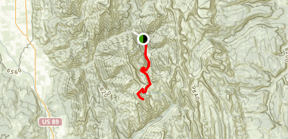 Mount Wagner Trail Map