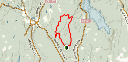 Godfrey Trail to Pent Trail Loop Map