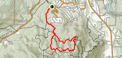 Bullitt Access Loop Map