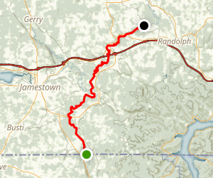 Conewango Creek Via Canoe Map