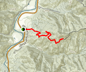 Mule Mountain Trail Map