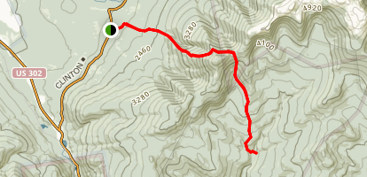 Mount Eisenhower Trail To Dry River Map