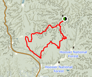 Cope Hollow Loop Trail Map