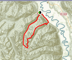 Long Canyon Trail Map