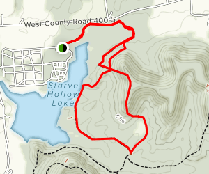Starve Hollow State Recreation Area Trail Map