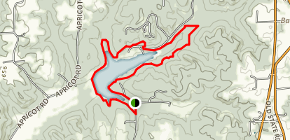 Tipsaw Lake Trail Map