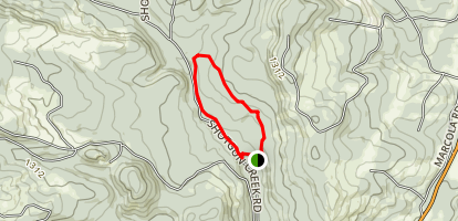 Upper Shotgun Creek Trail Map