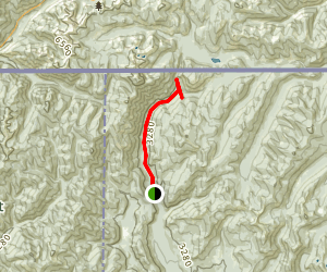 Upper Priest River Trail Map