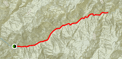 Lower Selway River Map