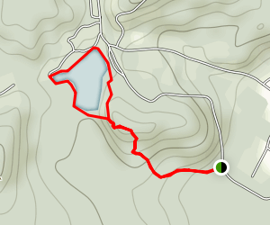 Cantys Lake Loop Trail Map