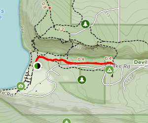 Grottos Trail Map